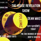 DEAN MASTERS -THE HOUSE REVELATION SHOW ON SOUL RADIO UK 01-10-16