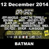ON-SET London 12/12/14 Promo Mix - BATMAN