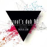 NOUS FM - sprout's dub 94 (Revenant & Keshigomu) - 2016年3月18日放送分