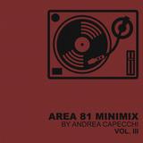 :: AREA 81 MINIMIX :: by Andrea Capecchi _ Vol. III