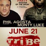 Podcast #20 June 2012 - Live @ Tribe: Phil Agosta