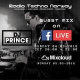 DJ Prince - Guest mix on Radio Techno Norway 04.03-2018