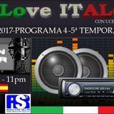 """PROGRAMA 4 TEMPORADA 5 """"I Love ITALO"""" 20-10-2017"""