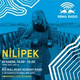RBMA Radio - 20.11.2016 Konuk: Nilİpek