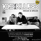 Kraak & Smaak DJ mix for Radio 105 Italy, InDaKlubb show, 08-07-16