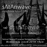sΛtΛnwave vvitchmix andraaj 66.6 + SPitphyre June 8, 10 pm WFKU radio