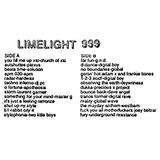 Limelight 999 Side A 1992
