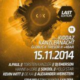 A.PAUL  @ TRESOR . Berlin - 15.11.2014 - Kanzlernacht