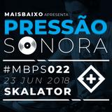 Pressão Sonora - 23-06-2018