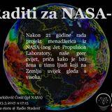 Znanost na Eteru - Raditi za NASA-u - 23.3.2017.