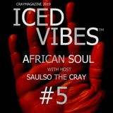ICED VIBES #5 AFRICAN SOUL WITH HOST SAULSO THE CRAY 7/7/2019