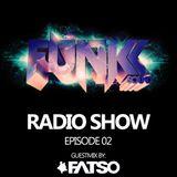 The Funkk Sound Radio Show Episode 02 feat. FATSO