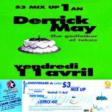 Derrick May @ S3 Mix Up 1 Anniversaire - L'An-Fer Dijon - 11.04.1997