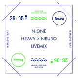 N.ONE Live Mix @ Heavy x Neuro in INQ Club