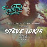 DJ Steve Loria Live at Soulful Sunday 8/2/15