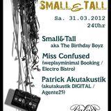 Patrick Akutakustik @2 Jahre Small&Tall, Club Palais 31.03.2012