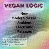 VEGAN LOGIC - NEW MODERN CLASSIC / AMBIENT / ELECTRONIC RELEASES - 4.10.2017
