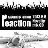 2013/06/06 reaction@ACID ROOM Present CD