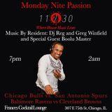 Monday Nite Passion w/ DJ Reg & Boolu Master