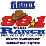 99.1 The Ranch Country Beats mix show by DJ Mike Breul