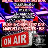 Tikkie Tek Radio Show 19 Nov. 2014 Mike Lachman in the First Hour