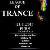 Adrena Line - Live @ League Of Trance, Pub 9, Wałbrzych, Poland (21-11-2015)