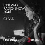 OneWay Music Radio show 045 with Olivia