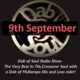 Dab of Soul Radio Show 9th September 2019 - Top 5 from Tony Treby