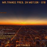Mr.Trance - In Motion - 018