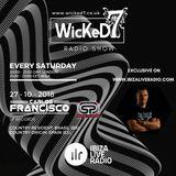 CARLOS FRANCISCO - WICKED 7 RADIO SHOW - IBIZA LIVE RADIO