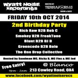 Smokey b2b Freaktone - Wyatt Noise Recordings 2nd Birthday