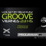 Groove #11 @ Vorterix Bahía (emitido el 24-03-17)
