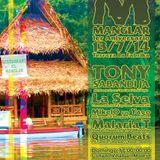 SweatCast#29 - La Selva ( Coconutah b2b Kay Gee ) - Live Mix @ Manglar #4 13/07/14