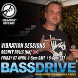 Vibration Sessions September 12th 2019 hosted by Rodney Rolls @BASSDRIVE.COM