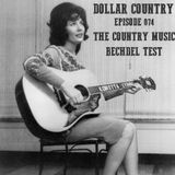 Dollar Country Episode 074:  The Country Music Bechdel Test