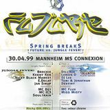 Tobi & Jonathan + MC Akeem @ FUTURE Spring Breaks, MS Connexion Mannheim (30.04.1999)