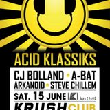 ACID KLASSIKS is a Acid trip through the Wormhole of time...