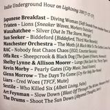 Indie Underground Hour (7/17/17)