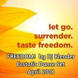 FREEDOM! by DJ Blender @ Sacred Circle Ecstatic Dance - 4-15-18