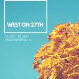 WEST ON 27TH presents SALOME live @ magic phangan studio thailand