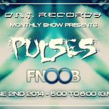 PULSES-(Montreal)-DMT Records monthly show-on FNOOB TECHNO RADIO
