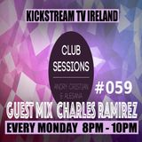 Andry Cristian & Alesana - Club Sessions 059 Guest Mix CHARLES RAMIREZ Live KickStream TV