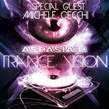 """Aspasia P. """"TRANCE VISION"""" Special Guest Michele Cecchi"""