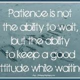 """patience with People"" 130908 1 Thessalonians 5:12-18"