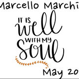 it is well with my soul - marcello marchi - may 2018
