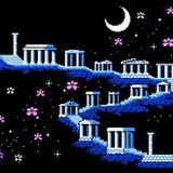 A CHANEL NIGHT ON THE ACROPOLIS ( image by 8bit stories )