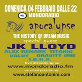 Apocalypse @ Mondoradio 39 ( guest JK Lloyd ) 18 febbraio 2018