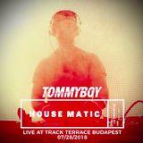 Tommyboy live at Track Terrace Budapest 2018-07-28