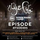 Aly  Fila - Future Sound Of Egypt EP. 495 [08.05.2017]