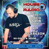 DISCO LOVIN RADIO SHOW // 9th OCTOBER 2019 // NUDISCO - DISCO // DJ CLARKSON